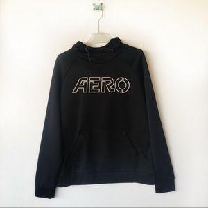 Aeropostal black hoodie sz large